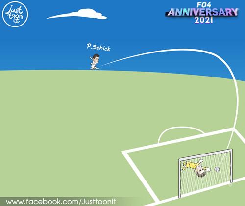 7M Daily Laugh - Super Goal from Patrik Schick 55goal