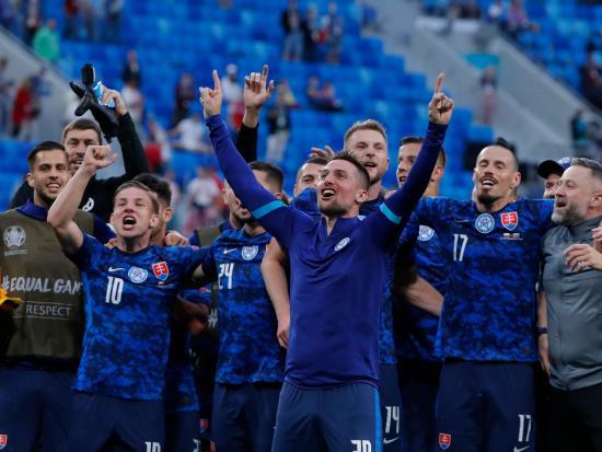 Coach Stefan Tarkovic praises Slovakia for nullifying Robert Lewandowski threat 55goal