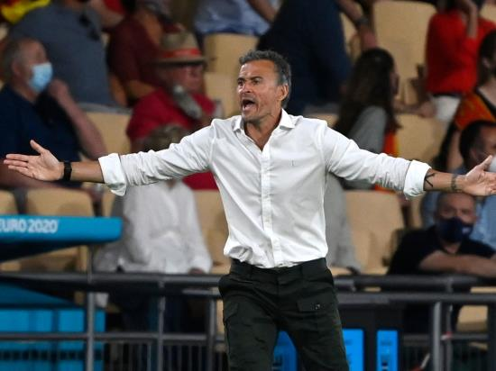 Luis Enrique defends Alvaro Morata after missing chances as Spain held by Sweden 55goal