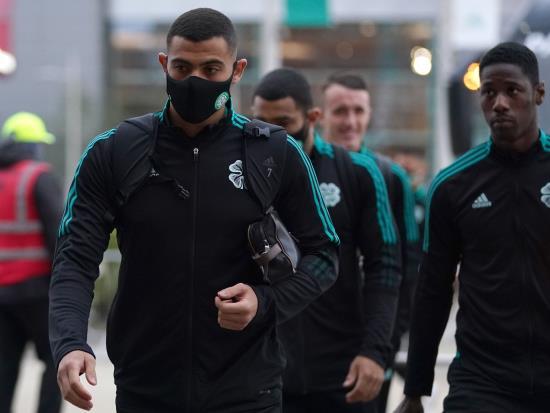 Striker Giorgos Giakoumakis suffers warm-up injury to add to Celtic's problems 55goal